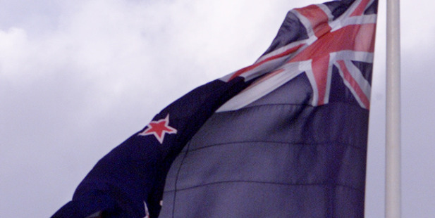 The current NZ flag came out on top in the flag referendum. Photo / David White