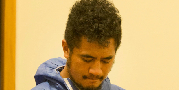 Rhys Richard Ngahiwi Warren appears in the Whakatane District Court earlier this month. PHOTO/FILE