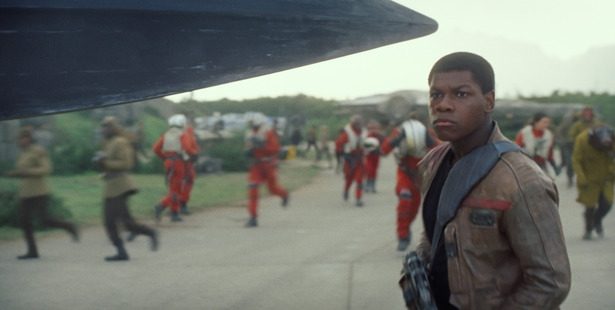Loading John Boyega aka Finn in Star Wars: The Force Awakens, has said he's sorry for a comment made during an acceptance speech.