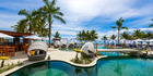 Waitui Beach Club at the Sofitel Fiji Resort & Spa on Denarau Island.