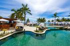 Waitui Beach Club at the Sofitel Fiji Resort & Spa on Denarau Island.