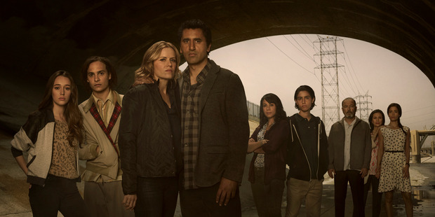 Fear the Walking Dead introduces a new zombie foe. Photo / Supplied