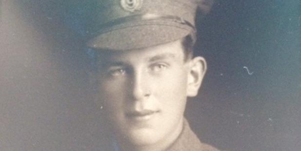 Philip Rhodes in uniform.