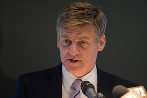 Bill English, Minister Responsible for Housing New Zealand.