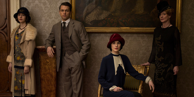 Downton Abbey was filmed in dozens of film locations and castles in Britain, and Gilded Age mansions in the US. Photo / Supplied