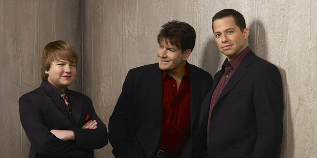 TVNZ's Two and a Half Men. Photo / Supplied