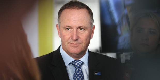 John Key has condemned the attacks in Brussels. Photo / Doug Sherring