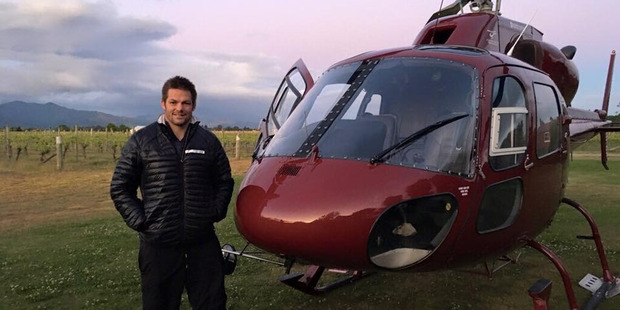 Richie McCaw has new wheels in addition to his wings, a Mercedes-Benz GLE 350 d. Photo / Facebook/Richie McCaw
