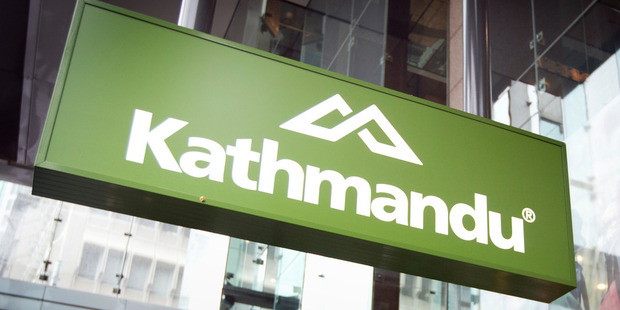 Kathmandu will pay a first-half dividend of 3 cents a share, unchanged from last year. Photo / NZ Herald