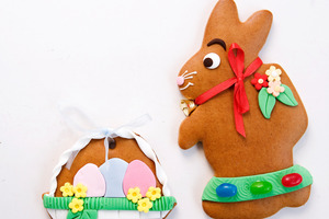 If the weather is bad,  bake some Easter-themed treats.