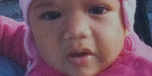 Jyniah Te Awa, who was murdered by caregiver and family friend Tiana Kapea in September 2007. Photo / Supplied