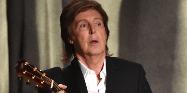 Sir Paul McCartney. Photo / AP