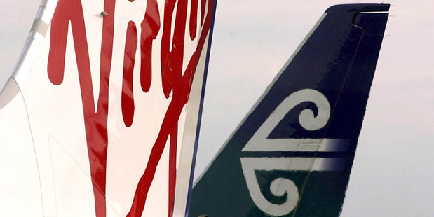 Air NZ is deepening its commitment to Virgin Australia, chipping in to a near half-billion-dollar repair job on the Australian airline's balance sheet. Photo / Getty Images