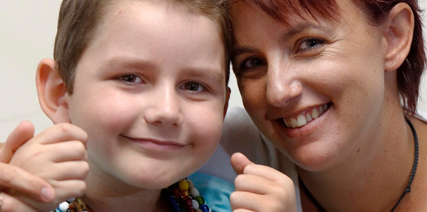 When Nicole Andrews noticed her son Barclay Morunga was pale, she knew something was wrong. Her hunch proved correct and Barclay was diagnosed with acute lymphoblastic leukaemia. PHOTO/JOHN STONE.
