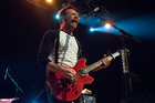 Jesse Hughes of Eagles Of Death Metal. Photo / Ross Gilmore
