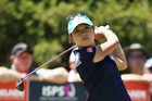 Lydia Ko tees off at Clearwater Golf Club. Photo / Getty Images