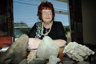 Violet Wheeler, 75, from Havelock North has been getting rocks and stones thrown onto her roof. 21st March 2016. Hawke's Bay Today Photograph by Paul Taylor
