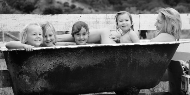 Michelle Hight's photograph, titled Bath Time, was the overall winner in the Martinborough Village Summer Pix Competition 2016. PHOTO/MICHELLE HIGHT