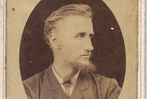 Thomas Edward Price, photographer, who plied his trade in Wairarapa in the 19th century. PHOTO/WAIRARAPA ARTCHIVE