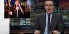 Watch: Watch: John Oliver takes down Donald Trump's wall