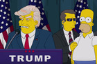 Donald Trump in an episode from The Simpsons.