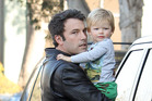Ben Affleck's son loves Batman, but won't see his dad play the role in new film Batman v Superman. Photo / Getty