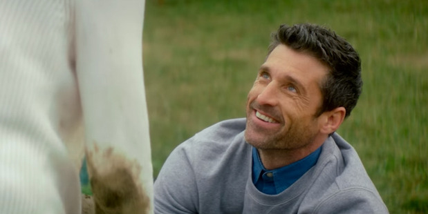 Patrick Dempsey chases after Bridget's affections in the new flick.