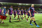 Brumbies players prepare before their round three match against the Western Force. photo / Getty