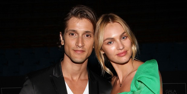 Hermann Nicoli and Candice Swanepoel are expecting their first baby. Photo / Getty