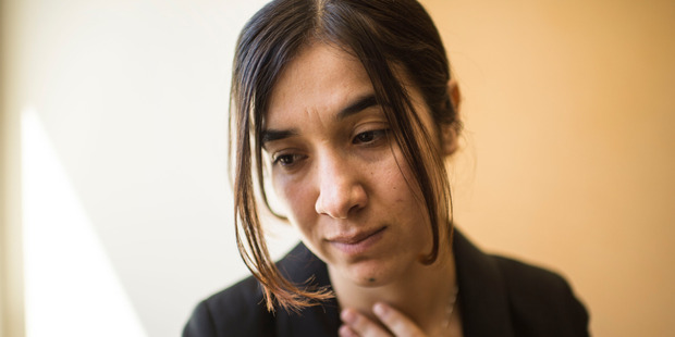 Nadia Murad is so traumatised she cannot remember how long she was held captive before escaping. Washington Post photo by Nikki Kahn