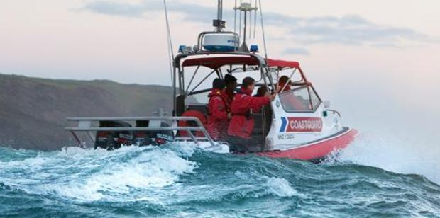 The Coastguard dispatched their NZ Steel rescue boat to the scene. Photo / Supplied via Coastguard
