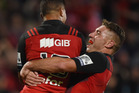 The Crusaders take on the Brumbies. Photo / Getty
