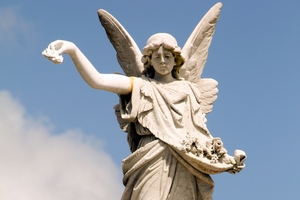 "Kaitaia's ""Angel Memorial"" was one of New Zealand's first World War I memorials."