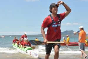 Simati (Marti) Toomalatai's waka ama team will pay tribute to him with a paddle out at Sulphur Point tomorrow morning.