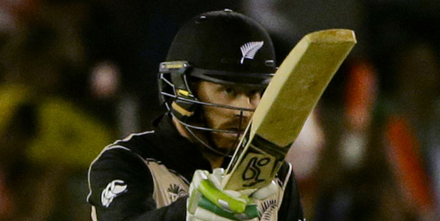 Martin Guptill is the third highest scorer in T20 history but hasn't been picked up by an IPL team. Photo / AP