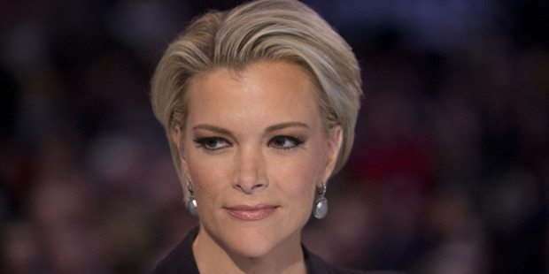 Fox News anchor Megyn Kelly waits to begin the Republican presidential candidate debate at the Iowa Events Center in Des Moines, Iowa, U.S., on Thursday, Jan. 28, 2016. Photo / Getty Images