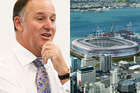 John Key is against putting public money into a waterfront stadium for Auckland.