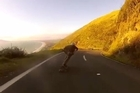 Tristan Hunter's sister Melissa Hunter shared a video of Tristan longboarding down Paekakariki Road as a tribute to him. Video / YouTube