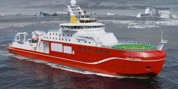 The British public has decided the best name for the ship is 'Boaty McBoatface'. Photo / NERCscience Twitter