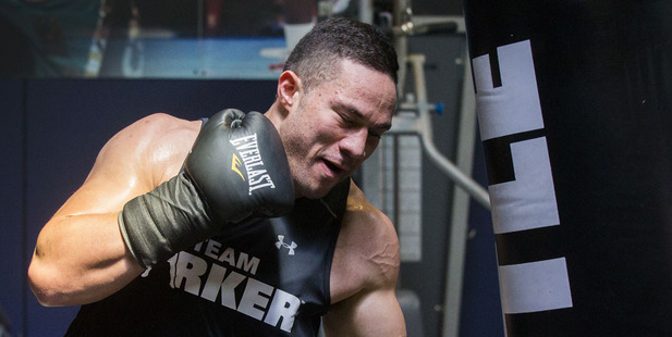 Joseph Parker. Photo / Nick Reed