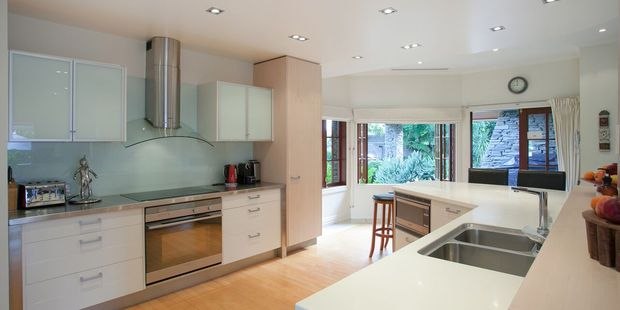 The kitchen. Photo / Jason Tregurtha