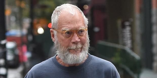 Former Late Night talk show host, David Letterman. Photo / Splash