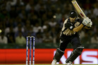 Ross Taylor scored a handy knock in the middle of the order. Photo / AP