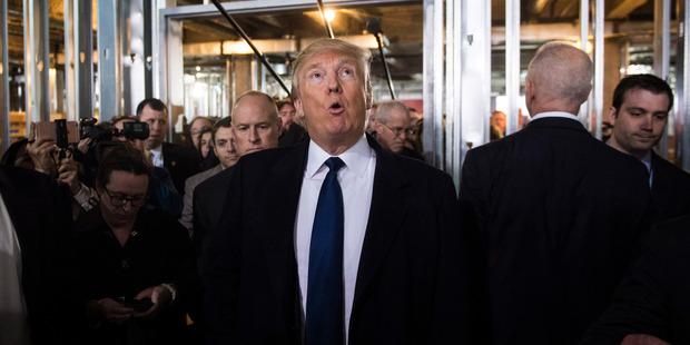 A nasty feud that escalated between Donald Trump and Ted Cruz. Photo / Jabin Botsford, Washington Post