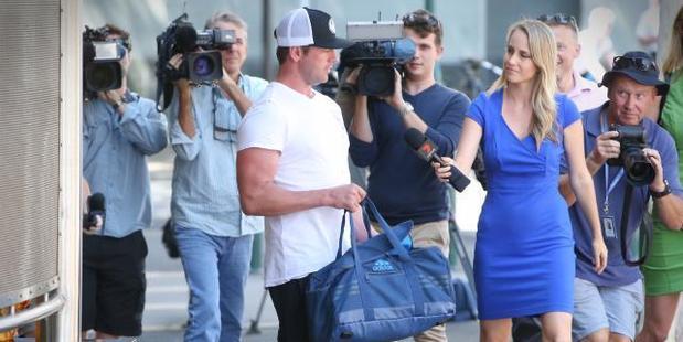 Loading Phillip Harrison leaving court. Photo / News Corp Australia