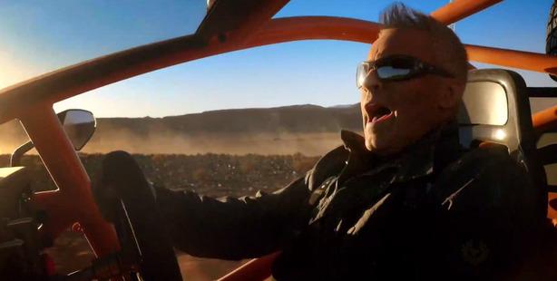 Top Gear host and former Friends star Matt LeBlanc.
