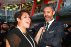 Anika Moa hits the red carpet at the premiere of Hunt for the Wilderpeople