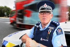 Northland's Inspector Wayne Ewers is concerned about the number of speeding drivers caught in Northland last week. Photo / Tania Whyte