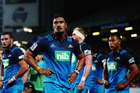 Jerome Kaino of the Blues looks on during the round three Super Rugby match between the Blues and the Hurricanes at Eden Park on March 11. Photo / Getty Images