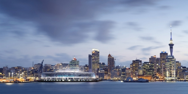 It's a defining time to have a Downtown stadium debate back on the table. Photo / NZPA